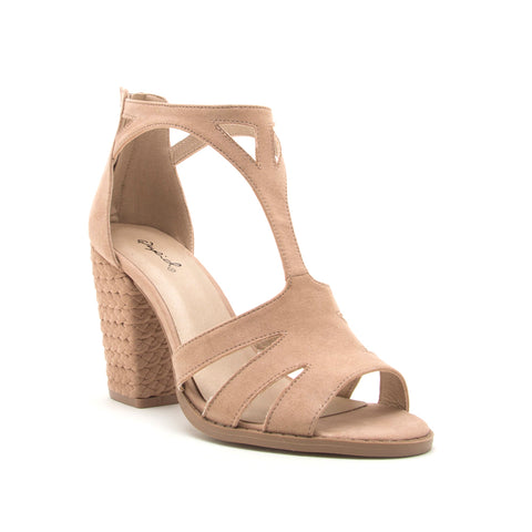 LOST-61AXX WARM TAUPE SUEDE PU