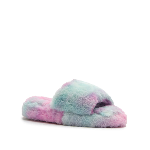 MADIEE-01 RAINBOW FAUX FUR