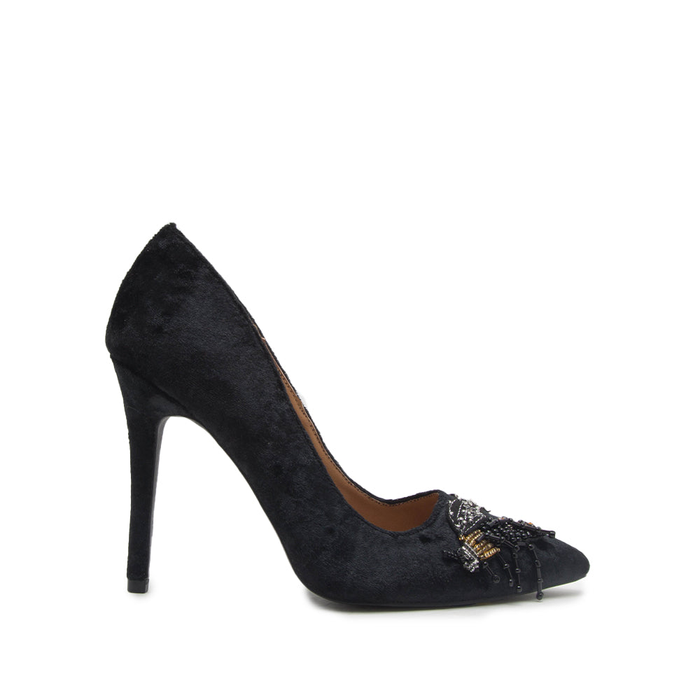 MILIA-129 BLACK CRUSH VELVET