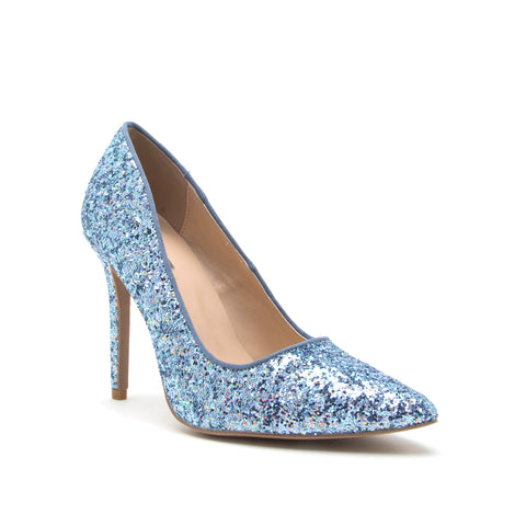 MILIA-97 LIGHT BLUE MULTI GLITTER PU