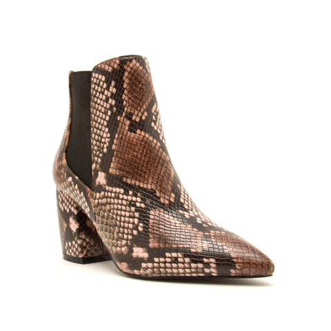 MILKWAY-07A LIGHT BROWN MULTI SNAKE PU