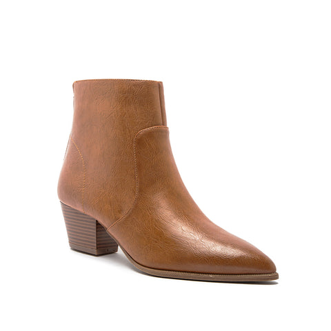 MYSTIQUE-01X COGNAC BURNISH PU