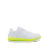 NOMA-01 WHITE NEON YELLOW PU 1/2 VIEW