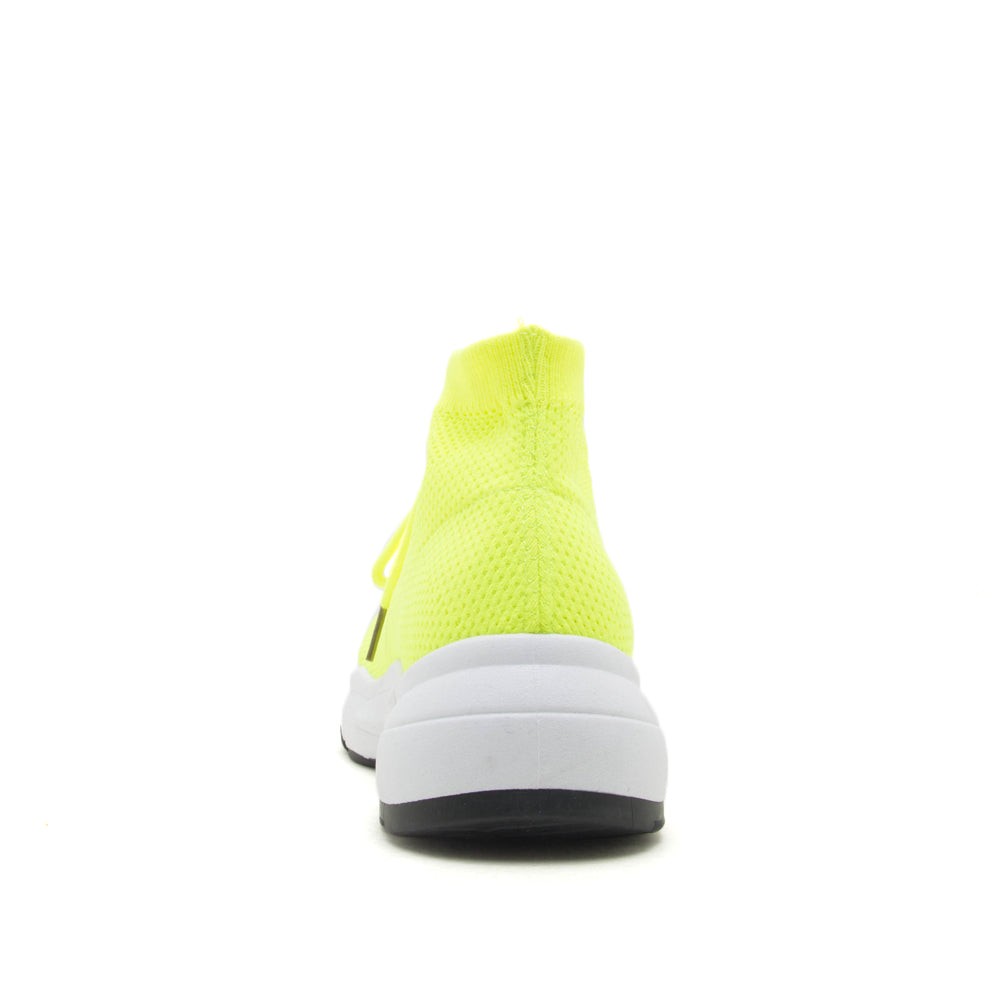 Qupid Wholesale OMNI-03 NEON YELLOW BACK VIEW