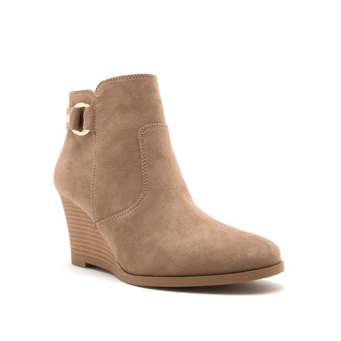 ORNA-03XX TAUPE SUEDE PU