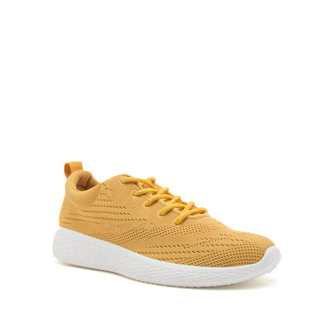 PAMIER-02A YELLOW FLYKNIT