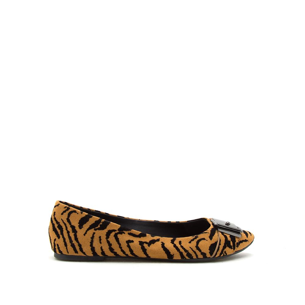 PIKA-239X CAMEL BLACK TIGER SUEDE PU 1/2 VIEW