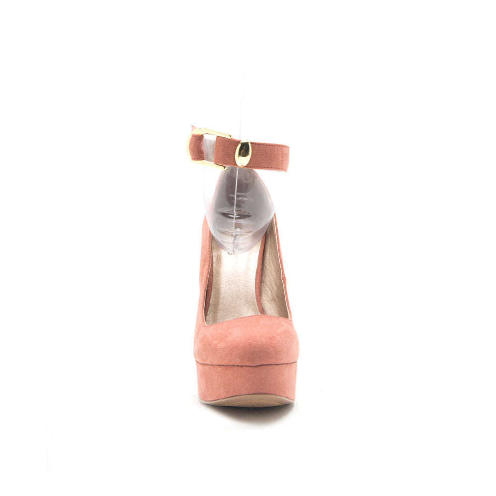 PITRI-03 DUSTY BLUSH SUEDE PU