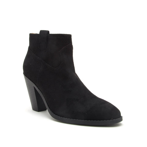 PRISM-01 BLACK STRETCH SUEDE PU