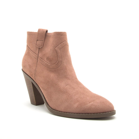 PRISM-01 DARK BLUSH STRETCH SUEDE PU