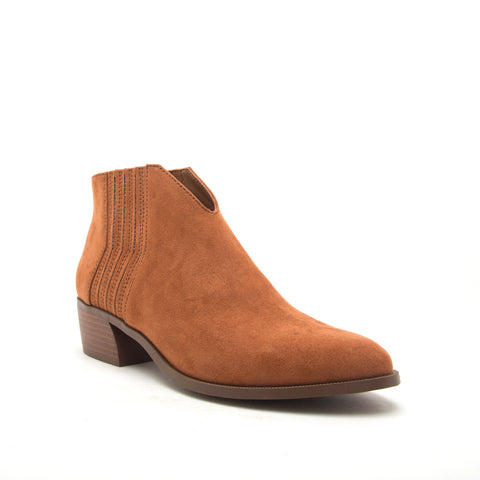 RAGER-46 RUST SUEDE PU