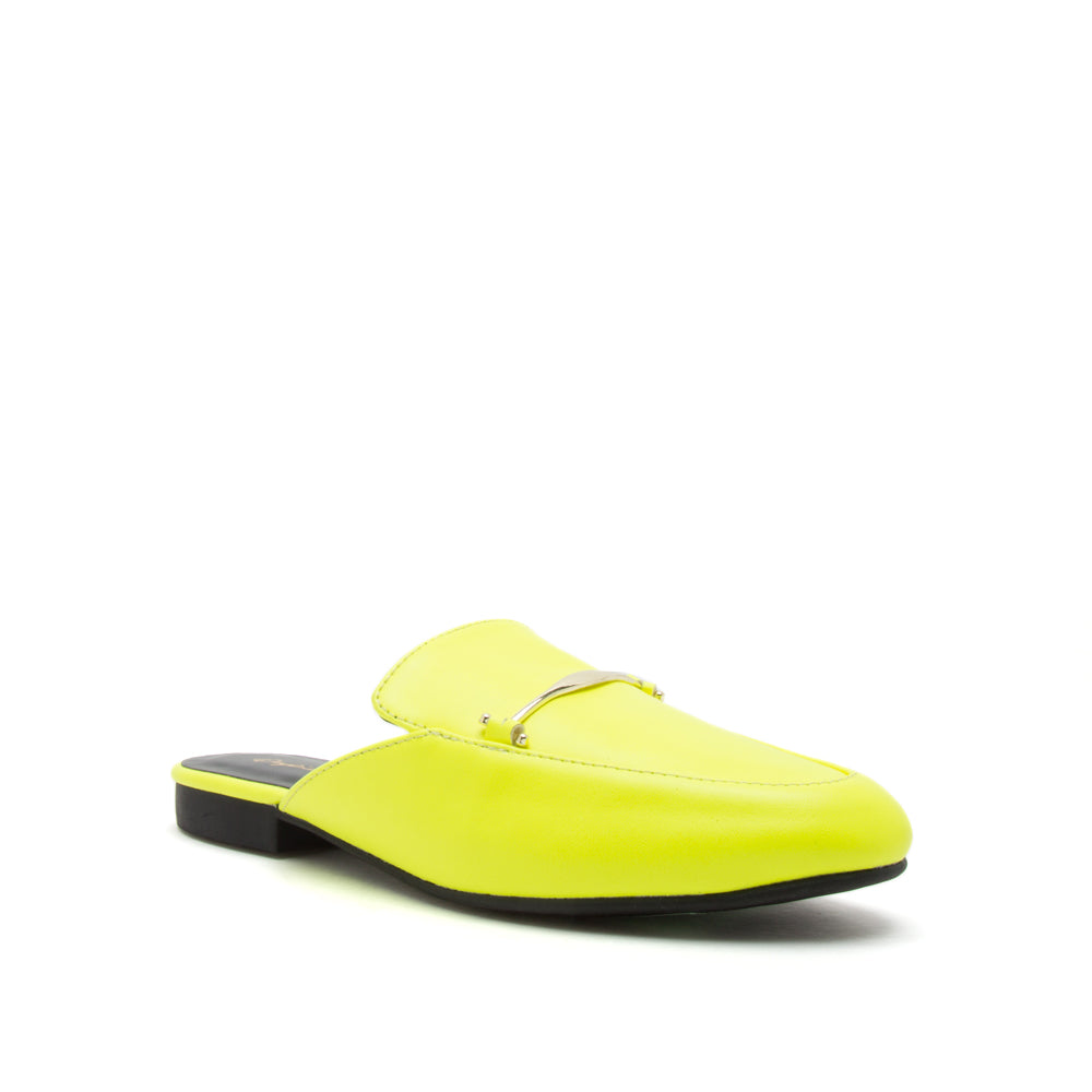 REGENT-79 NEON YELLOW PU 1/4 VIEW