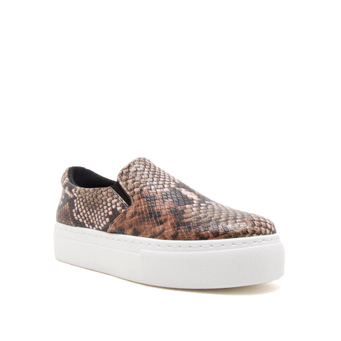 ROYAL-02C LIGHT BROWN MULTI SNAKE PU