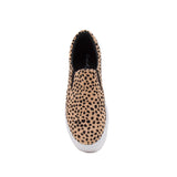 ROYAL-02C TAN/BLACK LEOPARD SUEDE PU FRONT VIEW