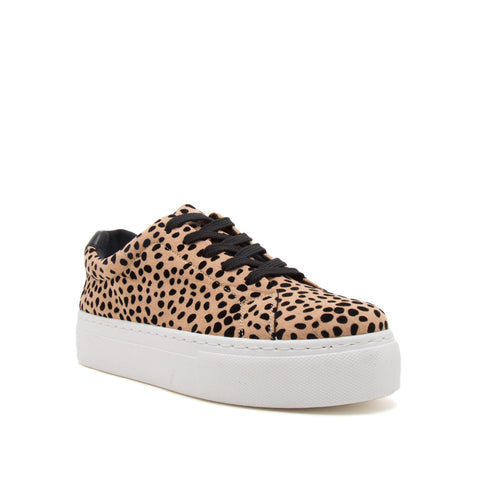 ROYAL-09A TAN/BLACK LEOPARD SUEDE PU