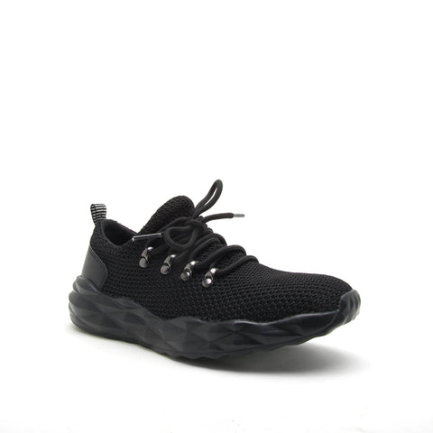 RYDER-01 BLACK FLY KNIT