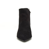 SAUCY-01A BLACK SUEDE PU
