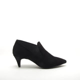 SAUCY-05 BLACK SUEDE PU