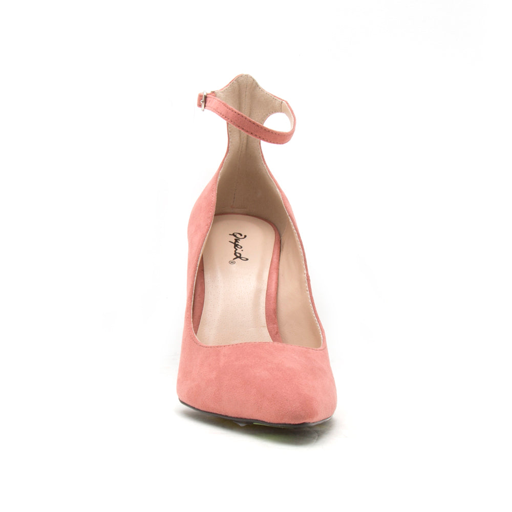 SHOW-08 DUSTY ROSE SUEDE PU