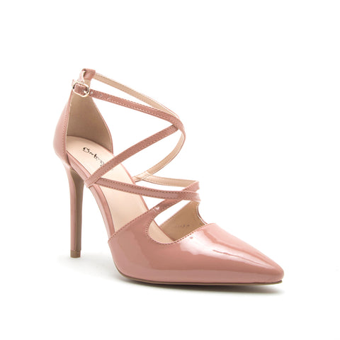 SHOW-49 DUSTY BLUSH PATENT PU
