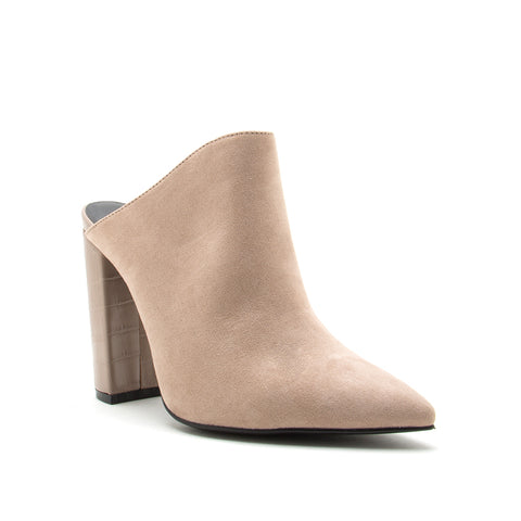 SIGNAL-113 TAUPE SUEDE PU