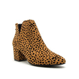 SKIPPER-11 CAMEL BLACK LEOPARD SUEDE 1/4 VIEW