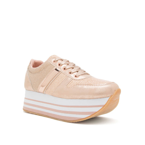 SKYWALK-02 ROSE GOLD DISTRESS PU