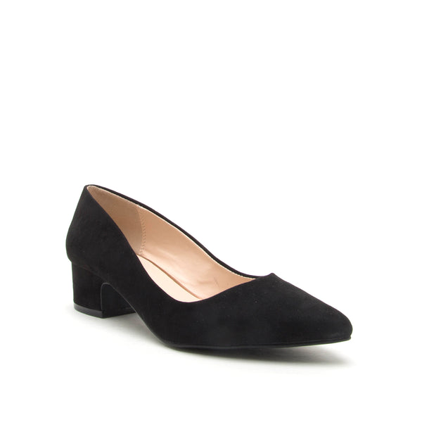 SWING-04 BLACK SUEDE PU