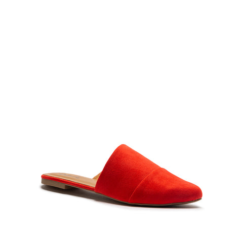 SWIRL-210 BLOOD ORANGE SUEDE PU