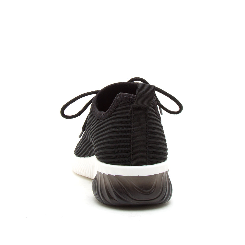TANK-01 BLACK FLY KNIT BACK VIEW