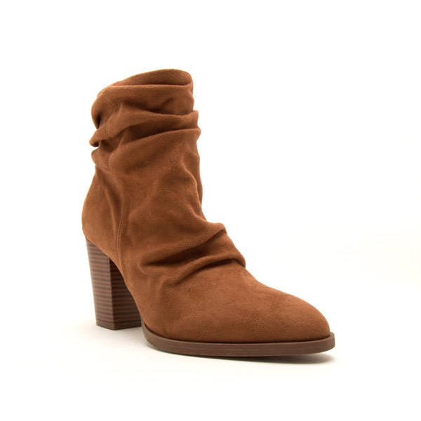 TIBER-42 CAMEL STRETCH SUEDE PU 1/4 VIEW