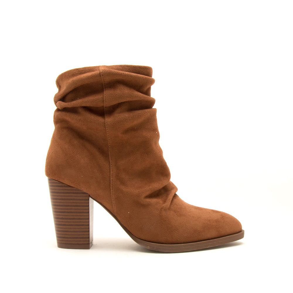 TIBER-42 CAMEL STRETCH SUEDE PU 1/2 VIEW
