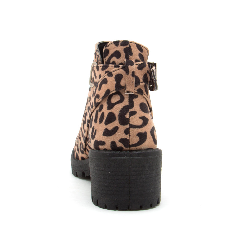 TRESSA-22X TAN BLACK LEOPARD SUEDE BACK VIEW