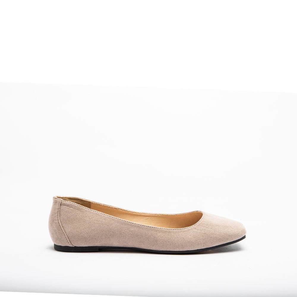 TULIN-01 TAUPE SUEDE PU 1/2 VIEW