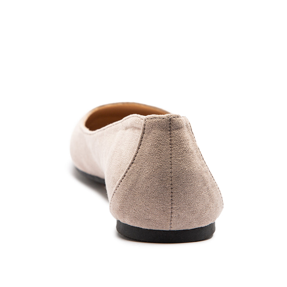 TULIN-01 TAUPE SUEDE PU BACK VIEW