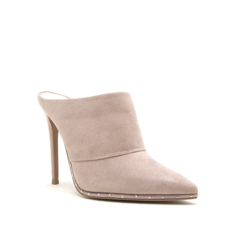 VAVA-04AX TAUPE SUEDE PU