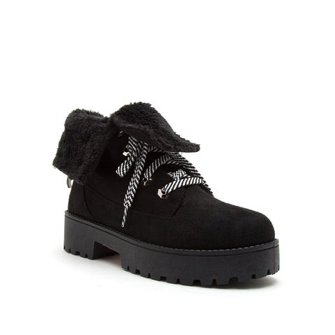 WARFARE-05A BLACK STRETCH SUEDE PU