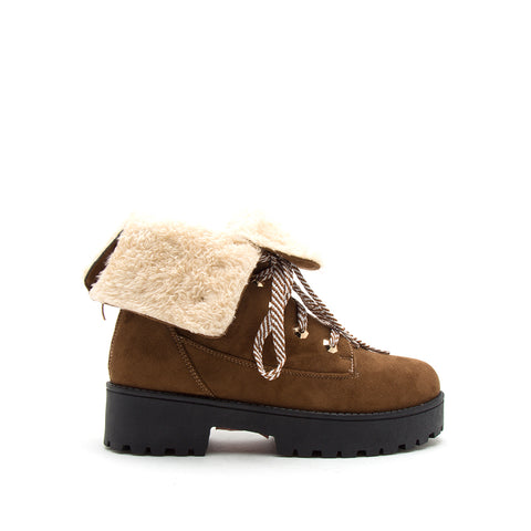 WARFARE-05A COFFEE STRETCH SUEDE PU