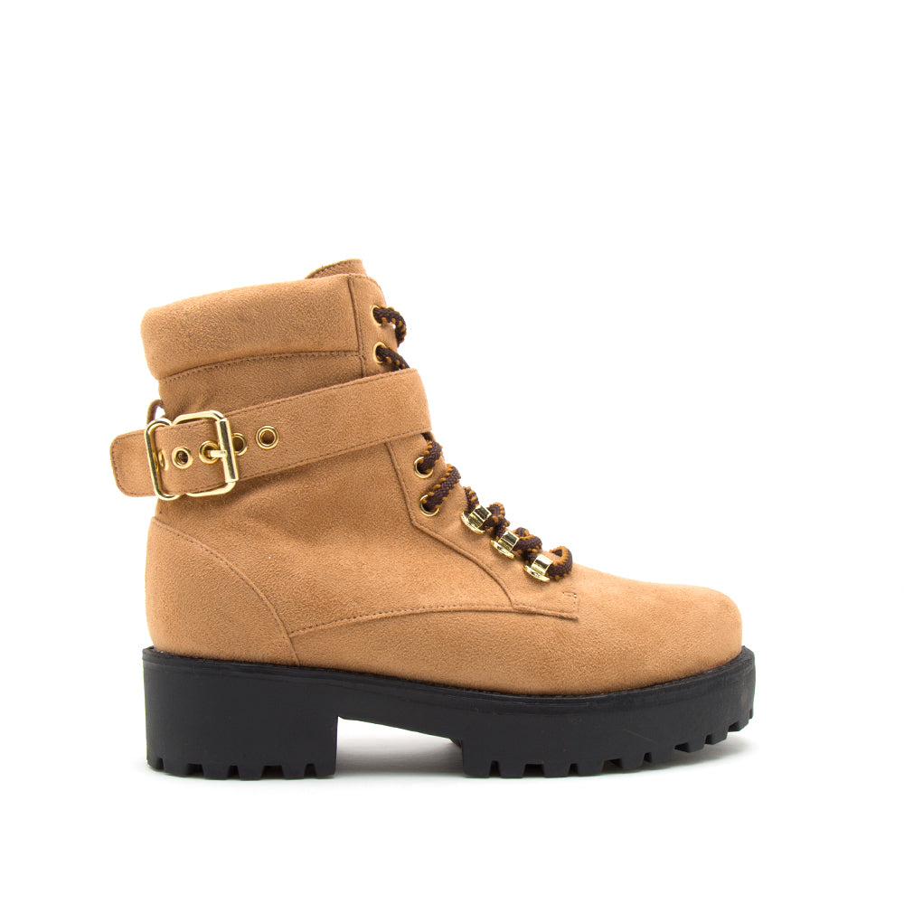 WARFARE-09A CAMEL STRETCH SUEDE PU 1/2 VIEW