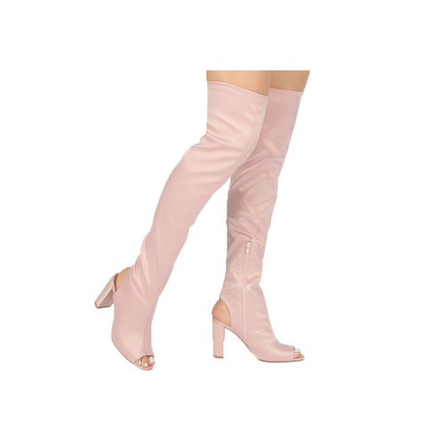 YORK-22X BLUSH STRETCH SATIN