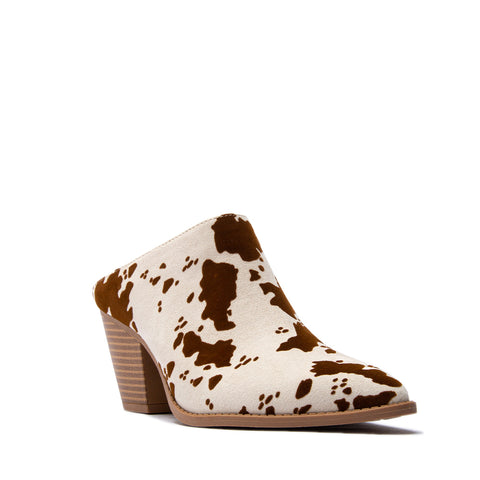 ZANE-65 BEIGE BROWN CALF SUEDE PU