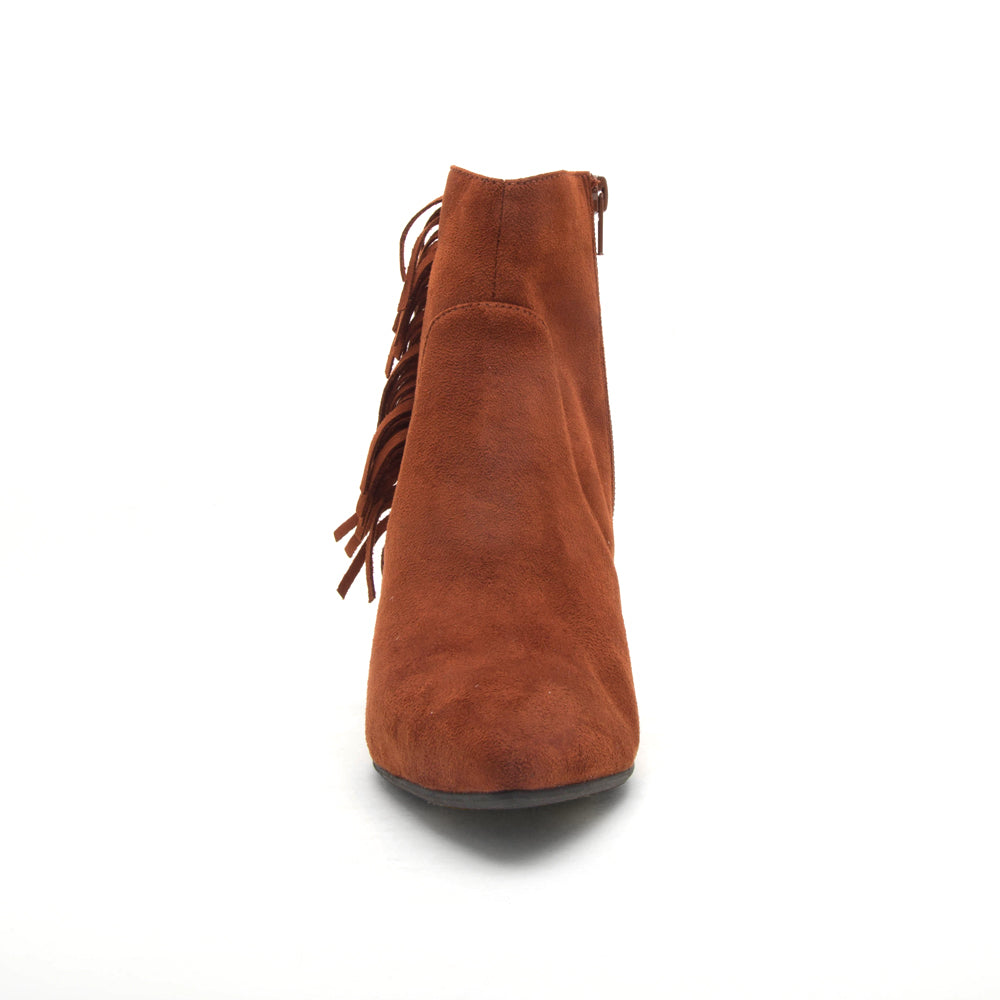 ZINGER-12 WHISKEY STRETCH SUEDE PU