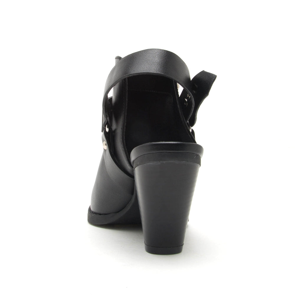 ZOOEY-04X BLACK BACK VIEW