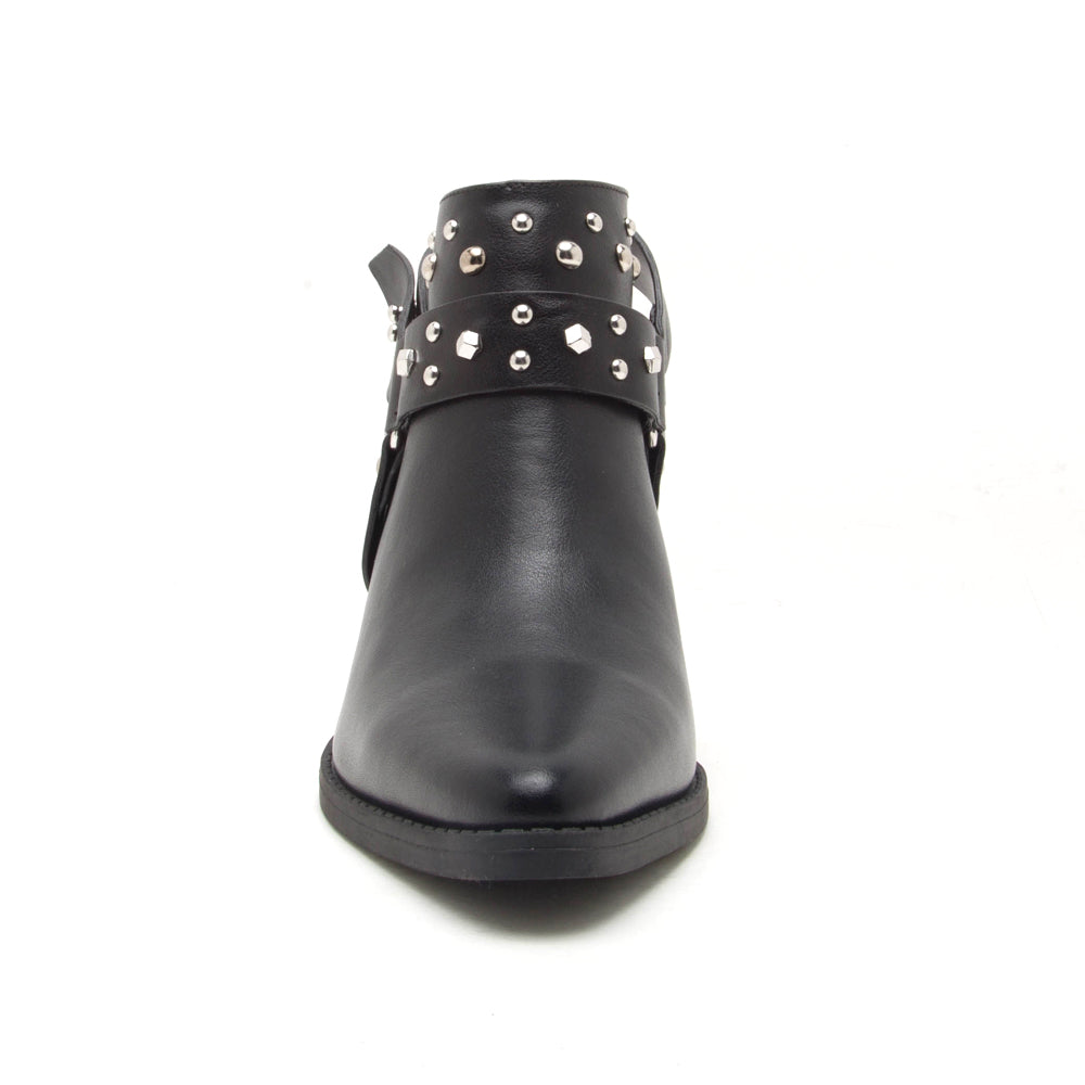 ZOOEY-04X BLACK FRONT VIEW