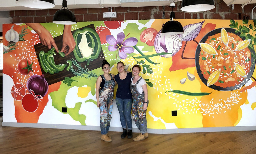 Commissioned Art Client Projects Murals And Design By