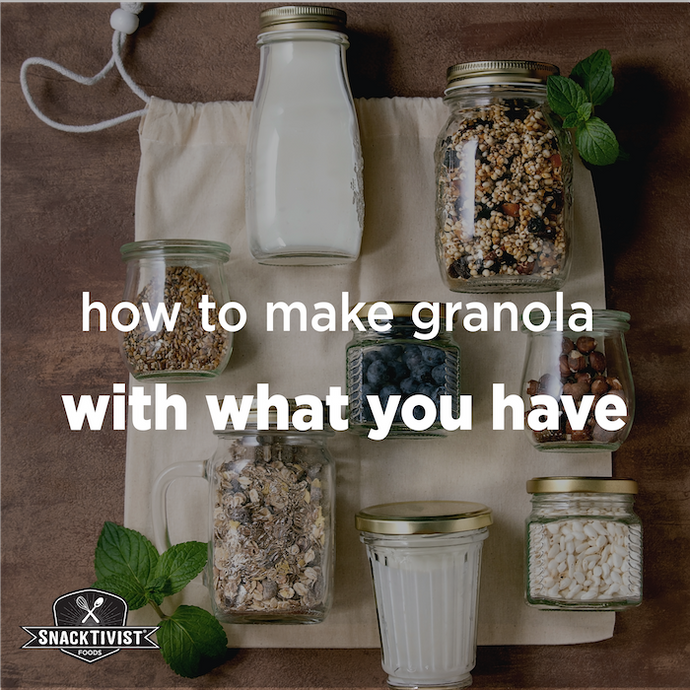How to Make Granola With What Have at Home