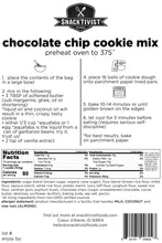 Load image into Gallery viewer, (Pack of 6) Snacktivist Foods Chocolate Chip Cookie Mix, Gluten-free, Non-GMO, 12 oz