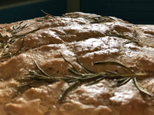 Load image into Gallery viewer, Rosemary Focaccia, GF, Vegan, non-GMO 12 oz