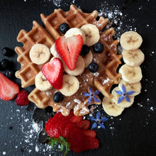 Load image into Gallery viewer, Ivory Teff Waffles & Pancakes, GF, Vegan, non-GMO 23 oz