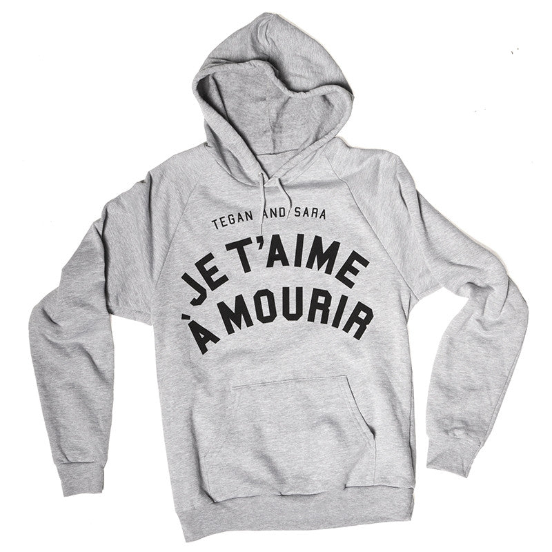 French Love You To Death Hoodie